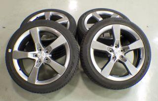 2010 2011 2012 Camaro SS 20 Silver Wheels Pirelli Tires Take Offs
