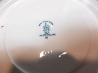 Royal Crown Derby Mikado Pattern Cream Soups 2 Handled Soups