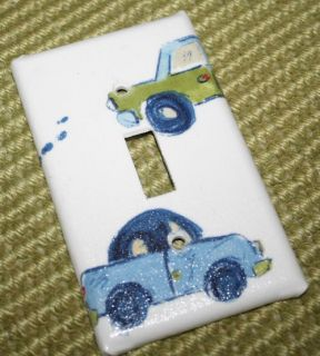 Switchplate madew Pottery Barn Kids Hayden Cars Trucks