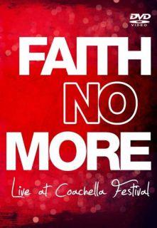 NO MORE DVD  Live Coachella Festival ALL REGIONS Mike Patton USA wow