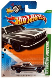 Hot Wheels mainline Treasure Hunt car. Protecto Package available for