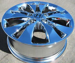 YOUR STOCK 2012 17 FACTORY HONDA CR V CHROME WHEELS RIMS ELEMENT CRV