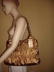 Michael Kors Webster Antique Brass Large Tote Bag