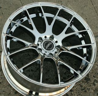 ASA GT5 20 Chrome Rims Wheels Acura MDX 07 Up 20 x 10 5H 32