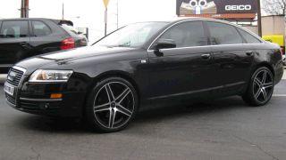 19 inch Niche Euro Black Wheels Rims 5x112 35 Audi A4 A6 A8 TT Q5 S4