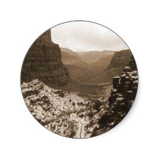 Bright Angel Trail, Grand Canyon Sticker