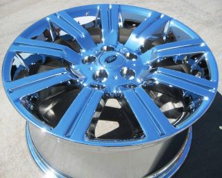 FACTORY RANGE ROVER SPORT CHROME WHEELS RIMS 2009 2012 EXCHANGE STOCK