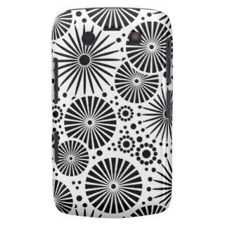 Beautiful retro black white BlackBerry Bold Case