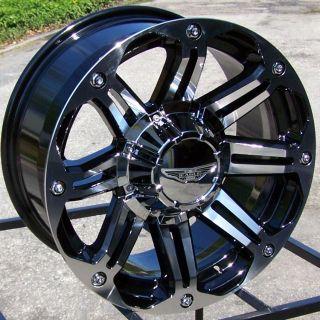 17 Gloss Black Wheels Rim 2007 Up Jeep Wrangler JK 4x4