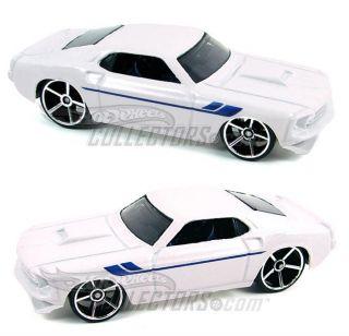 2007 Hot Wheels 017 Ford GTX 1 White