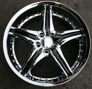 RVM 730 20 Chrome Rims Wheels Cadillac cts STS DTS GM