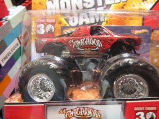 Wheels Monster Jam EL MATADOR diecast truck w/ trading card big wheels