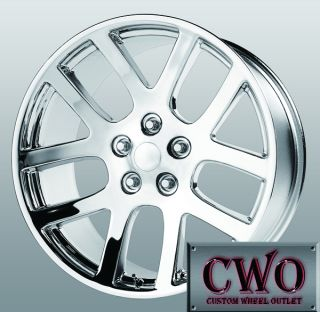 20 Chrome Replica SRT 10 Wheels 5x139 7 5 Lug Dodge RAM Durango Dakota