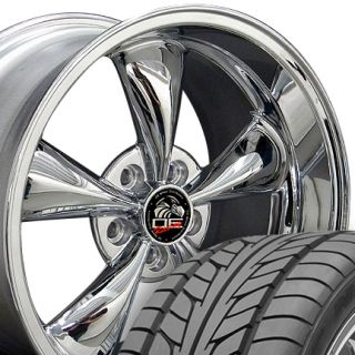 Bullitt Bullet Wheels Nitto Tires Rims Fit Mustang® GT 05 Up