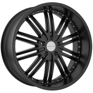 20 Black Menzari Z08 Wheels Rims 5x114 3 5 Lug Eclipse Camry Maxima