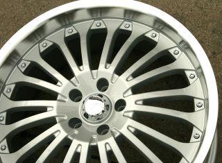 Menzari Z02 20 Silver Rims Wheels Benz E350 E500 20 x 8 5 5H 35