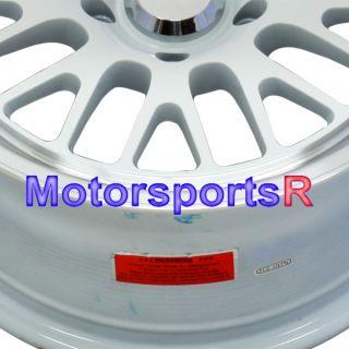 16 x 8 16x8 XXR 531 White Wheels Rims 5x114 3 Stance 08 09 10 11 12 13