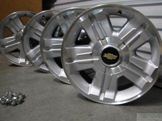 Set 18 Chevrolet Avalanche Wheels Suburban GM Truck