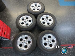 Five 07 13 Jeep Wrangler Factory 18 Wheels Tires Rims 1XA51TRMAA 255