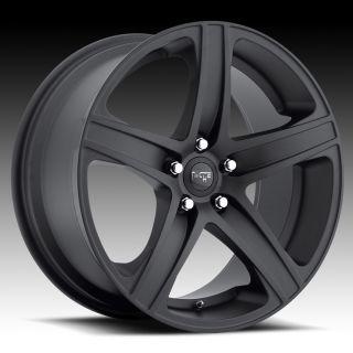 19 Niche Euro 5 Wheels Black BMW M3 E90 E92 E93 08 Stagggered 5 Spoke