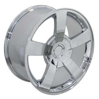 22 Silverado SS Chrome Wheels Set of 4 Rims Fits Chevrolet Cadillac