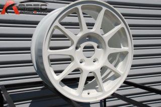 Rota R Spec 16x7 5x114 3 ET45 73 1 White Rims Wheels