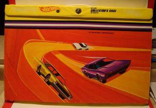 Vintage Hot Wheels 48 Car Collectors Case Adjustable Compartments Lot