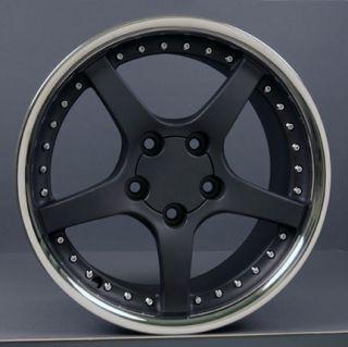 18 Rims Fit Camaro Corvette C5 Deep Dish Wheels Set