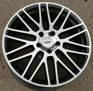 CROFT 17 GUNMETAL RIMS WHEELS JAGUAR S TYPE 00 08 / 17 X 8.0 5H +35