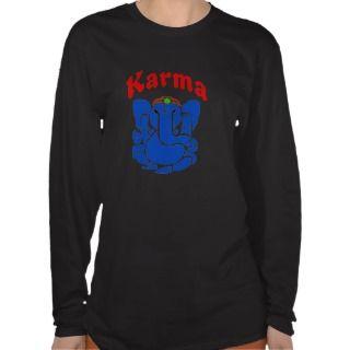 Karma Elephant, namaste, T Shirts