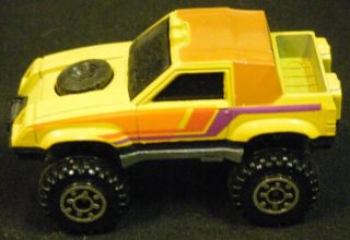 HOT WHEELS TERRAIN JEEP 4x4 TRUCK, Mattel 1984   Vintage Die Cast
