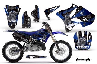Road Motocross Graphic Decal Kit Yamaha YZ 125 250 02 11 Tubgk