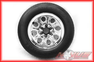 SILVERADO TAHOE GMC SIERRA YUKON CHROME WHEELS GENERAL TIRES 18 16