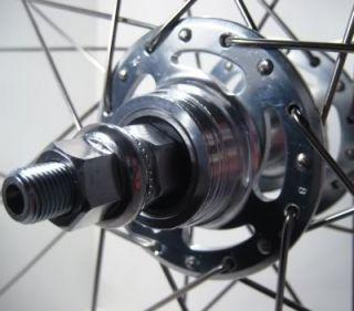 Weinmann LP18 27 inch Rear Bike Wheel Fixed Gear Track 27 inch Flip