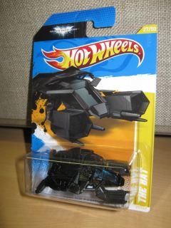 Wheels 2012 The Bat Dark Knight Rises Batman HW Premiere N Case New 27