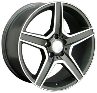 19 8 5 9 5 Gunmetal AMG Wheels Set of 4 Rims Fit Mercedes C E s Class