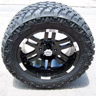 20 Moto Metal 951 Wheels Nitto Trail Grappler Tires for Dodge Durango