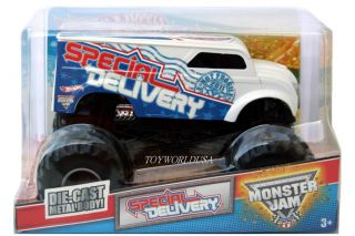2011 Hot Wheels Monster Jam Monster Truck Special Delivery