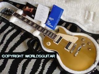 2011 Gibson Les Paul Sandard radiional Pro Gold op