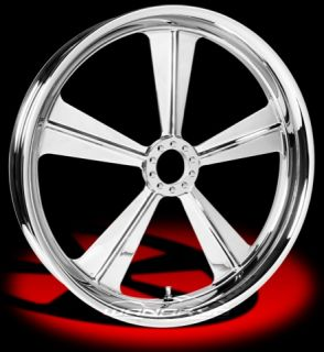 Colorado Custom Wheel Chrome Front Cancun 21 x 3 5 Harley 00 12 FLHR
