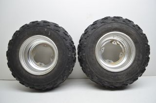 Yamaha YFZ450 Front Wheels Rims Dunlop 21 Tires Raptor 660 700