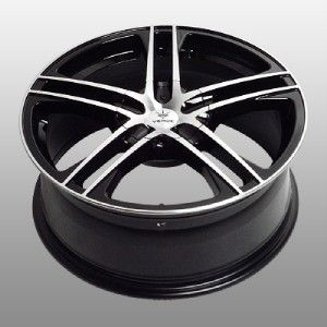 17 inch Verde Protocol Black Wheels Rims 5x4 5 Highlander Rav 4 Sienna