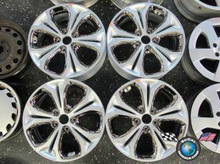 Four 2013 Hyundai Elantra GT Factory 17 Wheels Rims 52910 A5550