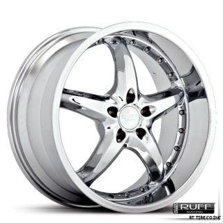 20 Chrome Wheels Rims Mustang 350Z Lexus GS Deep Lip
