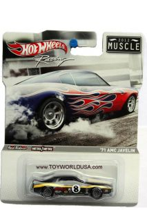 Vehicle Name 71 AMC Javelin AMX Series issue Hot Wheels Racing