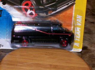 Hot Wheels A Team Ateam Van GMC 2011 New Models 39 50