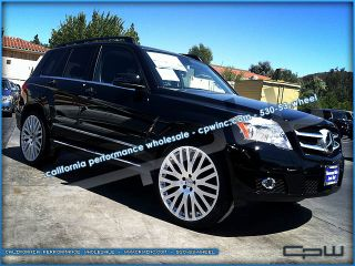 22 inch Mercedes Benz GLK SUV Silver Wheels Rims Without Tires