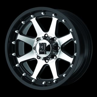 Inch BLACK Addict XD798 RIMS Dodge Chevy Ford Truck 8 Lug Wheels 20x9