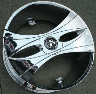 26 Chrome Rims Wheels Jeep Wrangler x 07 Up 26 x 9 5 5H 10