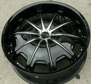Status Opus 22 Black Rims Wheels Ford Ranger 22 x 9 0 5H 15